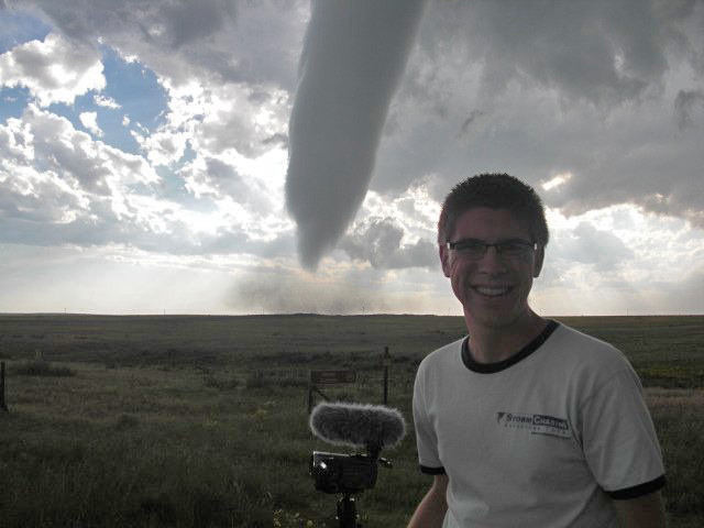 Ryan with Campo, Colorado tornado