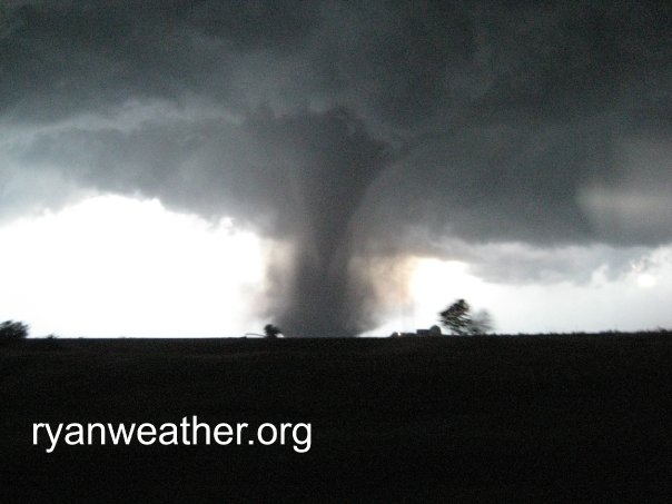 Wedge tornado west of Aurora, NE