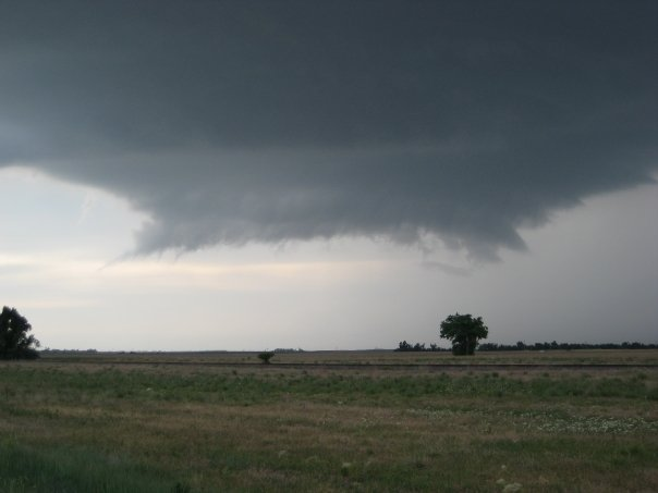 Supercell in Kiowa County near Greensburg, KS