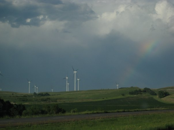 Rainbow in Northeast Kansas