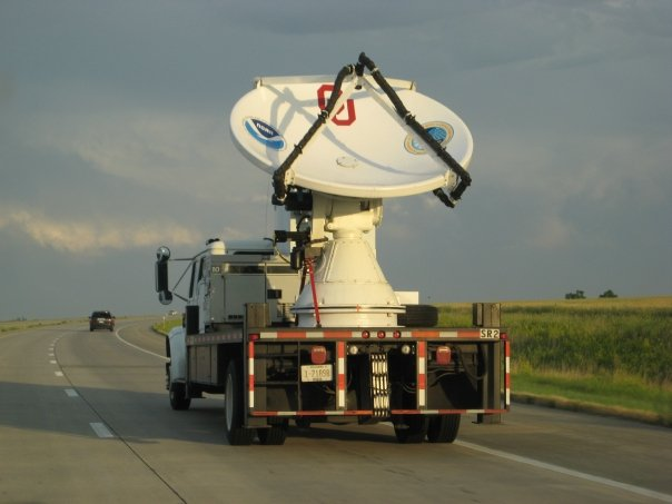 Doppler on Wheels (DOW) from the University of Oklahoma, part of VORTEX2