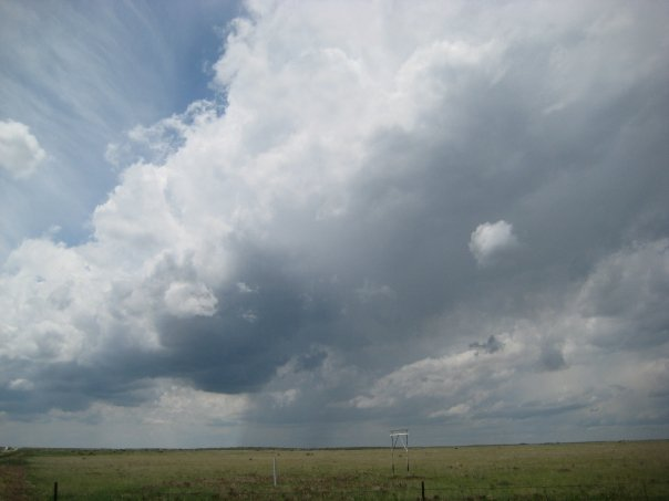 Supercell developing in Southeast Colorado