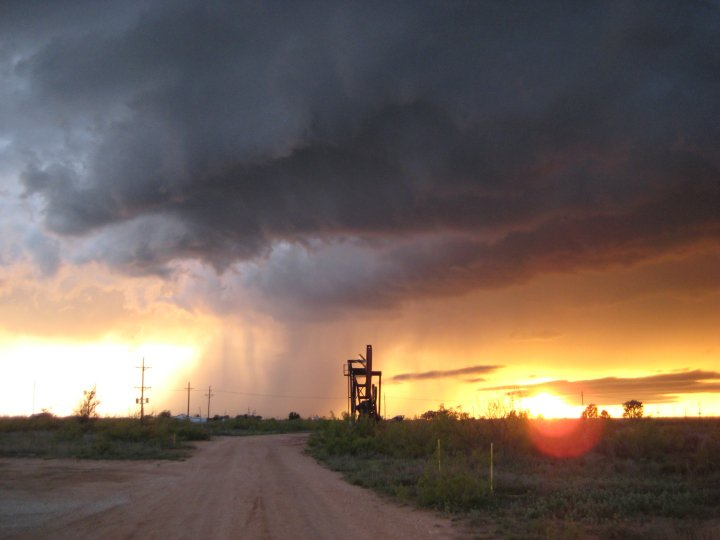 Supercell near Brownfield, Texas