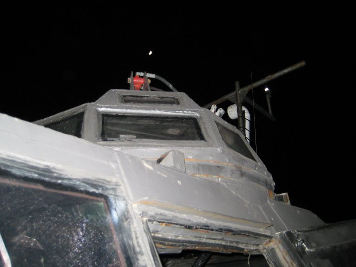 IMAX camera turret of TIV 2