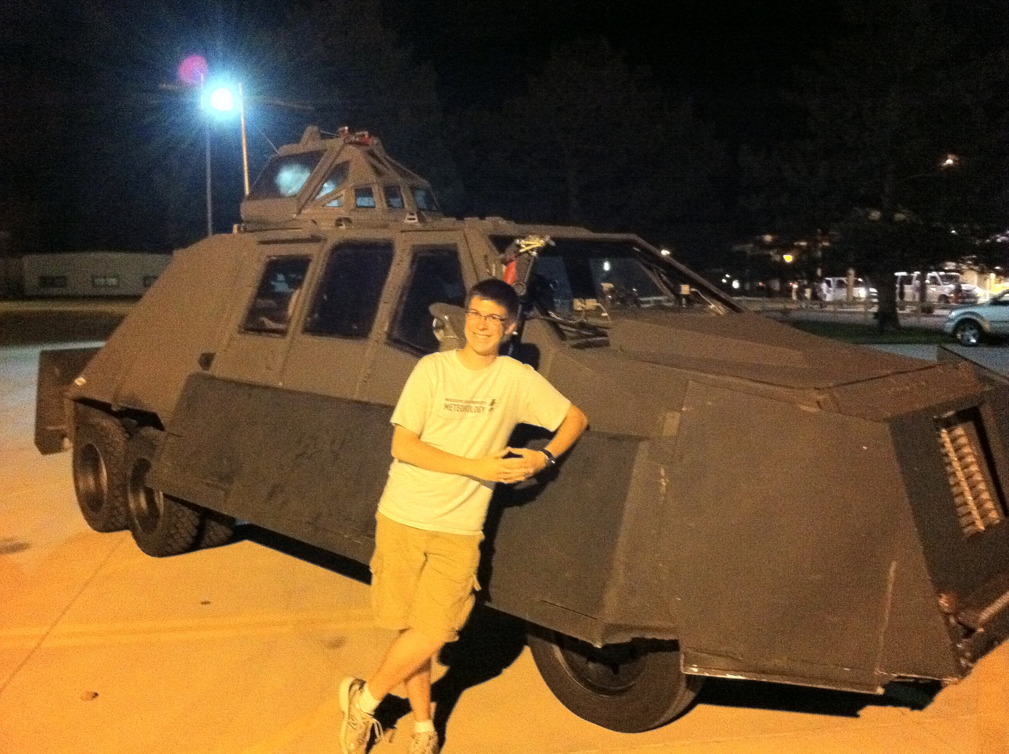 Ryan with the TIV 2 in Valentine, Nebraska